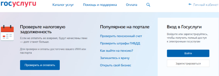 Gosuslugi ru вход в личный кабинет